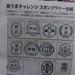 旅うまチャレンジスタンプラリー(水沢編)
